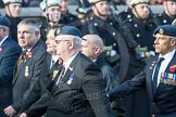 March Past, Remembrance Sunday at the Cenotaph 2016: C30 Royal Air Forces Association Armourers Branch. Cenotaph, Whitehall, London SW1, London, Greater London, United Kingdom, on 13 November 2016 at 12:56, image #1068