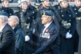 March Past, Remembrance Sunday at the Cenotaph 2016: C30 Royal Air Forces Association Armourers Branch. Cenotaph, Whitehall, London SW1, London, Greater London, United Kingdom, on 13 November 2016 at 12:56, image #1069