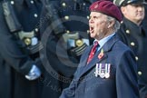 March Past, Remembrance Sunday at the Cenotaph 2016: C31 The Parachute Squadron Royal Armoured. Cenotaph, Whitehall, London SW1, London, Greater London, United Kingdom, on 13 November 2016 at 12:56, image #1070