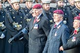March Past, Remembrance Sunday at the Cenotaph 2016: C31 The Parachute Squadron Royal Armoured. Cenotaph, Whitehall, London SW1, London, Greater London, United Kingdom, on 13 November 2016 at 12:56, image #1071