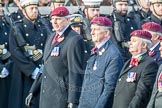 March Past, Remembrance Sunday at the Cenotaph 2016: C31 The Parachute Squadron Royal Armoured. Cenotaph, Whitehall, London SW1, London, Greater London, United Kingdom, on 13 November 2016 at 12:56, image #1072