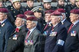 March Past, Remembrance Sunday at the Cenotaph 2016: C31 The Parachute Squadron Royal Armoured. Cenotaph, Whitehall, London SW1, London, Greater London, United Kingdom, on 13 November 2016 at 12:56, image #1075