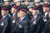 March Past, Remembrance Sunday at the Cenotaph 2016: C31 The Parachute Squadron Royal Armoured. Cenotaph, Whitehall, London SW1, London, Greater London, United Kingdom, on 13 November 2016 at 12:56, image #1078