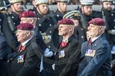 March Past, Remembrance Sunday at the Cenotaph 2016: C31 The Parachute Squadron Royal Armoured. Cenotaph, Whitehall, London SW1, London, Greater London, United Kingdom, on 13 November 2016 at 12:56, image #1080