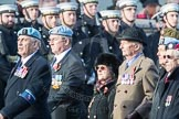 March Past, Remembrance Sunday at the Cenotaph 2016: C33 656 Squadron Association. Cenotaph, Whitehall, London SW1, London, Greater London, United Kingdom, on 13 November 2016 at 12:56, image #1096
