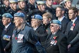 March Past, Remembrance Sunday at the Cenotaph 2016: C33 656 Squadron Association. Cenotaph, Whitehall, London SW1, London, Greater London, United Kingdom, on 13 November 2016 at 12:56, image #1099