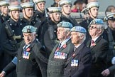 March Past, Remembrance Sunday at the Cenotaph 2016: C34 7 Regiment Army Air Corps (Volunteers) Association. Cenotaph, Whitehall, London SW1, London, Greater London, United Kingdom, on 13 November 2016 at 12:56, image #1105