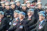 March Past, Remembrance Sunday at the Cenotaph 2016: C34 7 Regiment Army Air Corps (Volunteers) Association. Cenotaph, Whitehall, London SW1, London, Greater London, United Kingdom, on 13 November 2016 at 12:56, image #1106