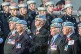March Past, Remembrance Sunday at the Cenotaph 2016: C34 7 Regiment Army Air Corps (Volunteers) Association. Cenotaph, Whitehall, London SW1, London, Greater London, United Kingdom, on 13 November 2016 at 12:56, image #1107
