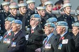 March Past, Remembrance Sunday at the Cenotaph 2016: C34 7 Regiment Army Air Corps (Volunteers) Association. Cenotaph, Whitehall, London SW1, London, Greater London, United Kingdom, on 13 November 2016 at 12:56, image #1108