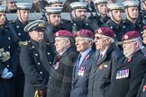 March Past, Remembrance Sunday at the Cenotaph 2016: C35 Airborne Engineers Association 2. Cenotaph, Whitehall, London SW1, London, Greater London, United Kingdom, on 13 November 2016 at 12:56, image #1114