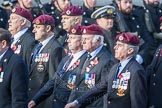 March Past, Remembrance Sunday at the Cenotaph 2016: C35 Airborne Engineers Association 2. Cenotaph, Whitehall, London SW1, London, Greater London, United Kingdom, on 13 November 2016 at 12:56, image #1117
