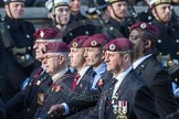 March Past, Remembrance Sunday at the Cenotaph 2016: C35 Airborne Engineers Association 2. Cenotaph, Whitehall, London SW1, London, Greater London, United Kingdom, on 13 November 2016 at 12:57, image #1121