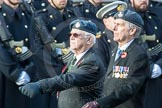 March Past, Remembrance Sunday at the Cenotaph 2016: C38 9(B) Squadron Association. Cenotaph, Whitehall, London SW1, London, Greater London, United Kingdom, on 13 November 2016 at 12:57, image #1144