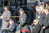 March Past, Remembrance Sunday at the Cenotaph 2016: F01 Blind Veterans UK. Cenotaph, Whitehall, London SW1, London, Greater London, United Kingdom, on 13 November 2016 at 12:57, image #1150