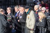 March Past, Remembrance Sunday at the Cenotaph 2016: F01 Blind Veterans UK. Cenotaph, Whitehall, London SW1, London, Greater London, United Kingdom, on 13 November 2016 at 12:57, image #1153