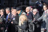March Past, Remembrance Sunday at the Cenotaph 2016: F01 Blind Veterans UK. Cenotaph, Whitehall, London SW1, London, Greater London, United Kingdom, on 13 November 2016 at 12:57, image #1154