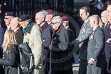 March Past, Remembrance Sunday at the Cenotaph 2016: F01 Blind Veterans UK. Cenotaph, Whitehall, London SW1, London, Greater London, United Kingdom, on 13 November 2016 at 12:57, image #1155