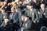 March Past, Remembrance Sunday at the Cenotaph 2016: F01 Blind Veterans UK. Cenotaph, Whitehall, London SW1, London, Greater London, United Kingdom, on 13 November 2016 at 12:58, image #1216