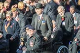 March Past, Remembrance Sunday at the Cenotaph 2016: F01 Blind Veterans UK. Cenotaph, Whitehall, London SW1, London, Greater London, United Kingdom, on 13 November 2016 at 12:58, image #1217