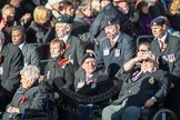 March Past, Remembrance Sunday at the Cenotaph 2016: F01 Blind Veterans UK. Cenotaph, Whitehall, London SW1, London, Greater London, United Kingdom, on 13 November 2016 at 12:58, image #1221