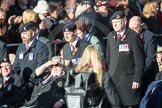 March Past, Remembrance Sunday at the Cenotaph 2016: F01 Blind Veterans UK. Cenotaph, Whitehall, London SW1, London, Greater London, United Kingdom, on 13 November 2016 at 12:58, image #1223