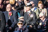 March Past, Remembrance Sunday at the Cenotaph 2016: F01 Blind Veterans UK. Cenotaph, Whitehall, London SW1, London, Greater London, United Kingdom, on 13 November 2016 at 12:58, image #1226
