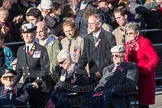 March Past, Remembrance Sunday at the Cenotaph 2016: F01 Blind Veterans UK. Cenotaph, Whitehall, London SW1, London, Greater London, United Kingdom, on 13 November 2016 at 12:58, image #1227