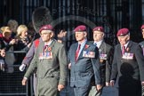March Past, Remembrance Sunday at the Cenotaph 2016: D01 The Parachute Regimental Association. Cenotaph, Whitehall, London SW1, London, Greater London, United Kingdom, on 13 November 2016 at 12:58, image #1230