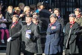 March Past, Remembrance Sunday at the Cenotaph 2016: D02 QARANC Association. Cenotaph, Whitehall, London SW1, London, Greater London, United Kingdom, on 13 November 2016 at 12:58, image #1252