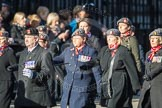 March Past, Remembrance Sunday at the Cenotaph 2016: D02 QARANC Association. Cenotaph, Whitehall, London SW1, London, Greater London, United Kingdom, on 13 November 2016 at 12:58, image #1253