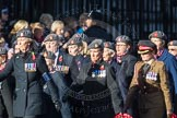 March Past, Remembrance Sunday at the Cenotaph 2016: D02 QARANC Association. Cenotaph, Whitehall, London SW1, London, Greater London, United Kingdom, on 13 November 2016 at 12:58, image #1257