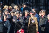 March Past, Remembrance Sunday at the Cenotaph 2016: D02 QARANC Association. Cenotaph, Whitehall, London SW1, London, Greater London, United Kingdom, on 13 November 2016 at 12:58, image #1258