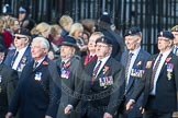 March Past, Remembrance Sunday at the Cenotaph 2016: D03 REME Association. Cenotaph, Whitehall, London SW1, London, Greater London, United Kingdom, on 13 November 2016 at 12:59, image #1277