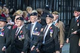 March Past, Remembrance Sunday at the Cenotaph 2016: D03 REME Association. Cenotaph, Whitehall, London SW1, London, Greater London, United Kingdom, on 13 November 2016 at 12:59, image #1279