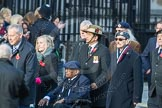 March Past, Remembrance Sunday at the Cenotaph 2016: D06 Stoll (Sir Oswald Stoll Foundation). Cenotaph, Whitehall, London SW1, London, Greater London, United Kingdom, on 13 November 2016 at 12:59, image #1297