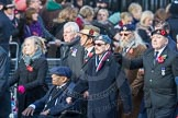March Past, Remembrance Sunday at the Cenotaph 2016: D06 Stoll (Sir Oswald Stoll Foundation). Cenotaph, Whitehall, London SW1, London, Greater London, United Kingdom, on 13 November 2016 at 12:59, image #1300
