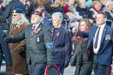 March Past, Remembrance Sunday at the Cenotaph 2016: D06 Stoll (Sir Oswald Stoll Foundation). Cenotaph, Whitehall, London SW1, London, Greater London, United Kingdom, on 13 November 2016 at 12:59, image #1302