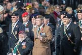 March Past, Remembrance Sunday at the Cenotaph 2016: D08 Army Dog Unit Northern Ireland Association. Cenotaph, Whitehall, London SW1, London, Greater London, United Kingdom, on 13 November 2016 at 12:59, image #1325