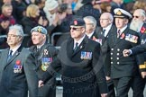 March Past, Remembrance Sunday at the Cenotaph 2016: D10 South Atlantic Medal Association. Cenotaph, Whitehall, London SW1, London, Greater London, United Kingdom, on 13 November 2016 at 13:00, image #1342