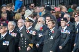 March Past, Remembrance Sunday at the Cenotaph 2016: D10 South Atlantic Medal Association. Cenotaph, Whitehall, London SW1, London, Greater London, United Kingdom, on 13 November 2016 at 13:00, image #1344