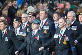 March Past, Remembrance Sunday at the Cenotaph 2016: D10 South Atlantic Medal Association. Cenotaph, Whitehall, London SW1, London, Greater London, United Kingdom, on 13 November 2016 at 13:00, image #1347