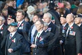 March Past, Remembrance Sunday at the Cenotaph 2016: D10 South Atlantic Medal Association. Cenotaph, Whitehall, London SW1, London, Greater London, United Kingdom, on 13 November 2016 at 13:00, image #1348