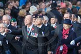 March Past, Remembrance Sunday at the Cenotaph 2016: D10 South Atlantic Medal Association. Cenotaph, Whitehall, London SW1, London, Greater London, United Kingdom, on 13 November 2016 at 13:00, image #1350