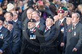 March Past, Remembrance Sunday at the Cenotaph 2016: D10 South Atlantic Medal Association. Cenotaph, Whitehall, London SW1, London, Greater London, United Kingdom, on 13 November 2016 at 13:00, image #1366