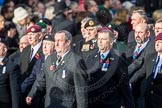 March Past, Remembrance Sunday at the Cenotaph 2016: D10 South Atlantic Medal Association. Cenotaph, Whitehall, London SW1, London, Greater London, United Kingdom, on 13 November 2016 at 13:00, image #1368