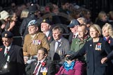 March Past, Remembrance Sunday at the Cenotaph 2016: D11 SSAFA. Cenotaph, Whitehall, London SW1, London, Greater London, United Kingdom, on 13 November 2016 at 13:00, image #1376