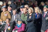 March Past, Remembrance Sunday at the Cenotaph 2016: D11 SSAFA. Cenotaph, Whitehall, London SW1, London, Greater London, United Kingdom, on 13 November 2016 at 13:00, image #1377