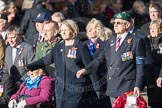 March Past, Remembrance Sunday at the Cenotaph 2016: D11 SSAFA. Cenotaph, Whitehall, London SW1, London, Greater London, United Kingdom, on 13 November 2016 at 13:00, image #1378