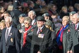 March Past, Remembrance Sunday at the Cenotaph 2016: D11 SSAFA. Cenotaph, Whitehall, London SW1, London, Greater London, United Kingdom, on 13 November 2016 at 13:00, image #1382